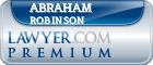 Abraham Samuel Robinson  Lawyer Badge
