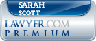 Sarah Jane Scott  Lawyer Badge