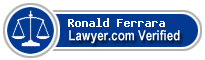 Ronald Andrew Ferrara  Lawyer Badge