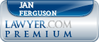 Jan Ferguson  Lawyer Badge