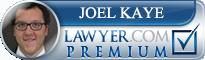 Joel Elliot Kaye  Lawyer Badge