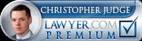 Christopher M. Judge  Lawyer Badge