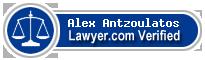 Alex G. Antzoulatos  Lawyer Badge