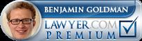 Benjamin Goldman  Lawyer Badge