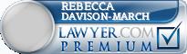 Rebecca L. Davison-March  Lawyer Badge