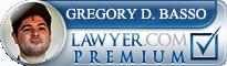 Gregory Dane Basso  Lawyer Badge