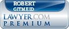 Robert Stanley Gitmeid  Lawyer Badge