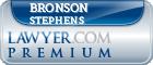 Bronson Charles Stephens  Lawyer Badge