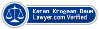 Karen J Krogman Daum  Lawyer Badge