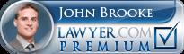 John Peter Brooke  Lawyer Badge