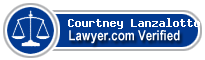 Courtney Alexandropoulos Lanzalotto  Lawyer Badge