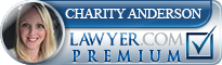 Charity Anderson  Lawyer Badge