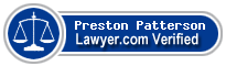 Preston Luther Patterson  Lawyer Badge
