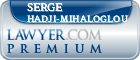 Serge Basil Hadji-Mihaloglou  Lawyer Badge
