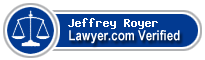 Jeffrey Thomas Royer  Lawyer Badge
