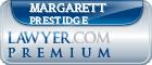 Margarett Laverna Prestidge  Lawyer Badge