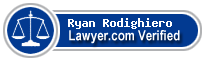 Ryan R Rodighiero  Lawyer Badge