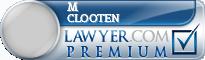 M Nicole Clooten  Lawyer Badge