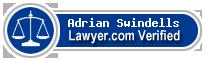 Adrian W Swindells  Lawyer Badge