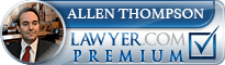 Allen Robert Thompson  Lawyer Badge