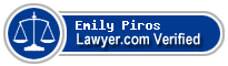 Emily Kathleen Piros  Lawyer Badge