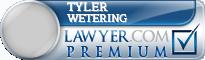 Tyler C. Wetering  Lawyer Badge
