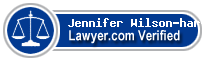 Jennifer Wilson-harvey  Lawyer Badge