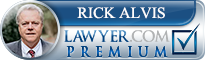 Rick Alvis  Lawyer Badge
