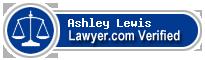Ashley Ray Lewis  Lawyer Badge