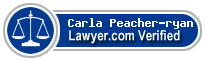 Carla Ann Peacher-ryan  Lawyer Badge