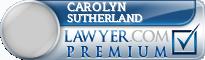 Carolyn Rose Sutherland  Lawyer Badge