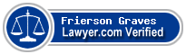 Frierson M Graves  Lawyer Badge