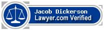 Jacob Alan Dickerson  Lawyer Badge