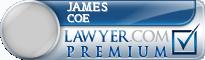 James Matthew Coe  Lawyer Badge