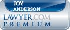 Joy Kaitlyn Anderson  Lawyer Badge