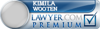 Kimila Lynn Wooten  Lawyer Badge