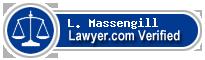 L. Carter Massengill  Lawyer Badge