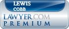 Lewis Latane Cobb  Lawyer Badge