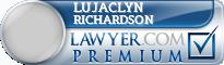 Lujaclyn Taylor Richardson  Lawyer Badge