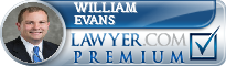 William Forrest Evans  Lawyer Badge