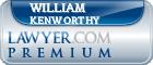 William Poston Kenworthy  Lawyer Badge