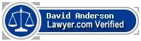 David Eugean Anderson  Lawyer Badge