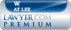 W. Kipling At Lee  Lawyer Badge