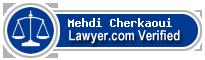 Mehdi Mohammed Cherkaoui  Lawyer Badge