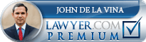 John Nicholas De La Vina  Lawyer Badge