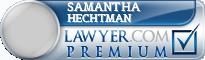 Samantha Aldrich Hechtman  Lawyer Badge