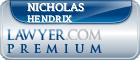 Nicholas Jay Hendrix  Lawyer Badge