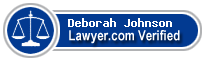 Deborah Elizabeth Johnson  Lawyer Badge