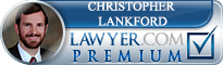 Christopher Lankford  Lawyer Badge