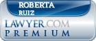 Roberta Ruiz  Lawyer Badge